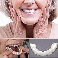 6ペアのベニアは、歯の化粧品の歯でスナップし、一時的な笑顔のコンフォートフィットは、白い歯を美しくきれいな化粧品の歯にします