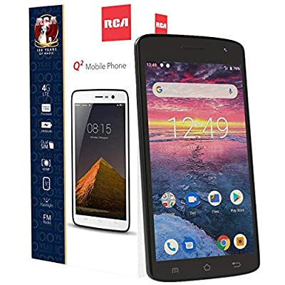 "RCA Android 5.0"" HD, 4G LTE, 16GB, 8MP 5MP Dual Camera, Dual Sim, Unlocked Smartphone"