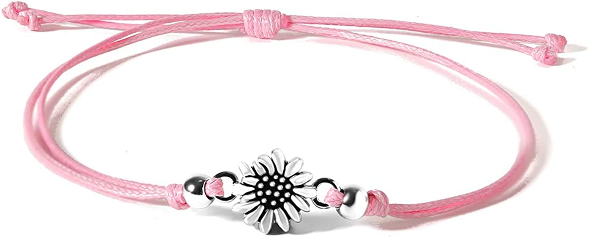 JoycuFF Sunflower Anklet Bracelets Limited price sale for My Ranking TOP13 Sunshine You Women are