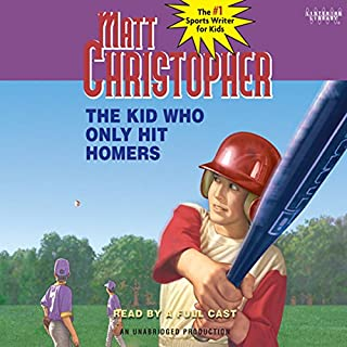 The Kid Who Only Hit Homers cover art