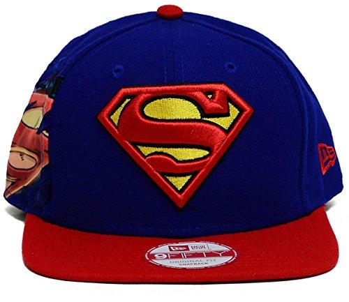 New Era DC Comics Superman 950 Hero Sider Snapback Baseball Cap