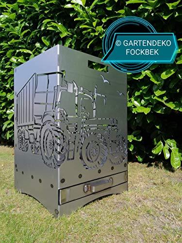 Feuerkorb Feuerstelle Maße 40x40x60 cm Motiv