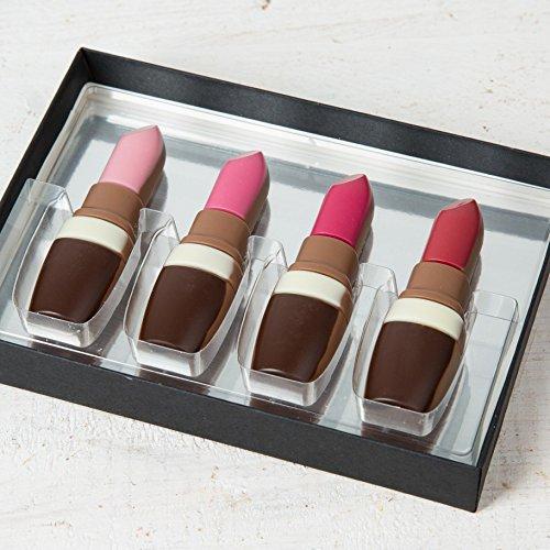 Hussel Lippenstift Set aus Schokolade
