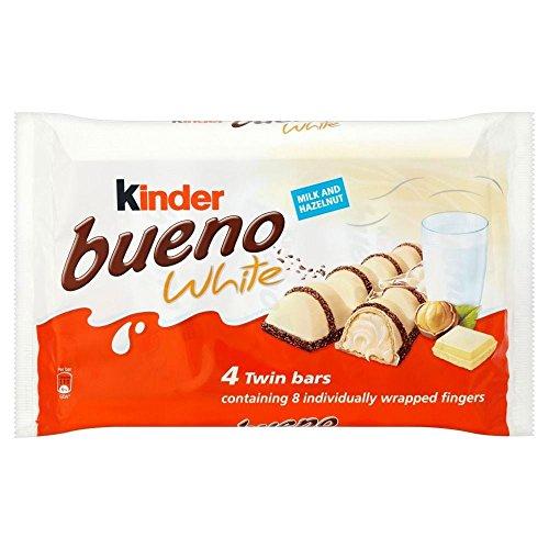 Kinder Bueno Twin Bars White Chocolate (4x43g) - Pack of 2