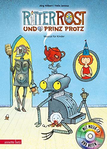 Ritter Rost 4: Ritter Rost und Prinz Protz: Buch mit CD