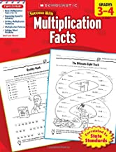 Scholastic Success with Multiplication Facts, Grades 3-4 PDF