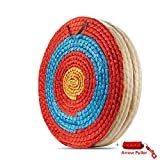 KAINOKAI Traditional Hand-Made Straw Archery Target,Arrows Target for Recurve Bow Longbow or Compound