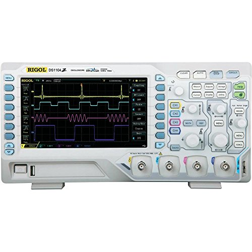 Rigol DS1074Z - Osciloscopio digital (4 canales, ancho de banda de 70 MHz)