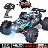 Best 1 10 Scale Rtr Rc Trucks - IP68 Waterproof RC Car High Speed RC Truck Review