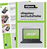 dipos I 2X Schutzfolie matt kompatibel mit Acer Chromebook 11 N7 Folie Bildschirmschutzfolie