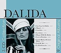 9 Original Albums by Dalida