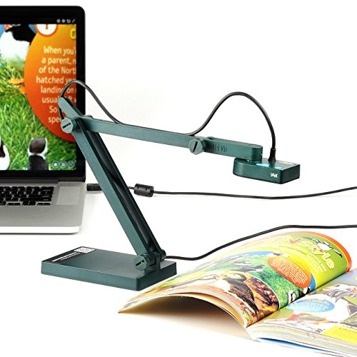 IPEVO V4K Ultra High Definition 8MP USB Document Camera — Mac OS, Windows, Chromebook Compatible for Live Demo, Web Conferencing, Distance Learning, Remote Teaching