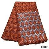African Fabric Französisch Nigerian Schnürsenkel Stoff