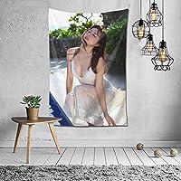 【2021新款】タペストリー 杉本有美 タペストリー インテリア 壁掛け おしゃれ 室内装飾 多機能 寝室 カーテン おしゃれ 個性ギフト 新築祝い 結婚祝い プレゼント ウォール アート 152*102cm