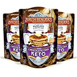 Birch Benders Keto Chocolate Chip Pancake & Waffle Mix with Almond/Coconut & Cassava Flour, Just Add...