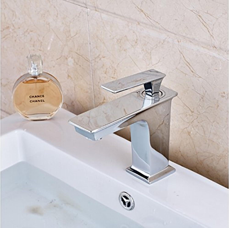 Retro Deluxe Fauceting Mode messing Waschbecken Wasserhahn, Einhebelsteuerung, warmes und kaltes Wasser, Waschbecken Armatur Mischbatterie