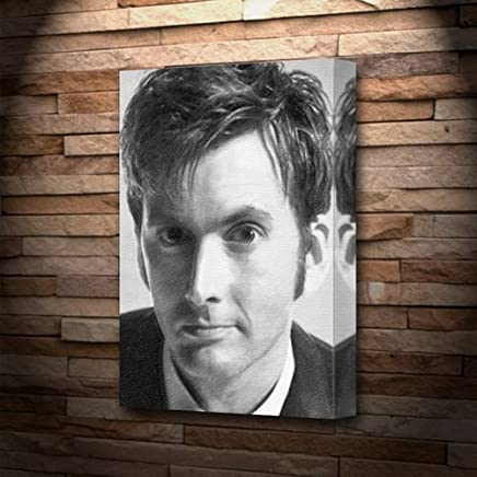 DAVID TENNANT - Canvas Print (A5 - Signed by the Artist) #js002