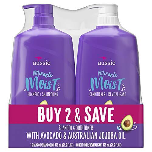 Kit Aussie Shampoo E Condicionador Moist 865ml