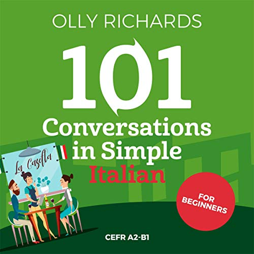 101 Conversations in Simple Italian (Italian Edition) cover art