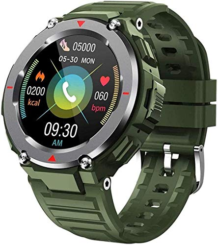 Reloj Inteligente Podómetro Smartwatch Con Presión Arterial Monitor De Ritmo Cardíaco Impermeable Sueño Fitness Tracker Bluetooth Call-A