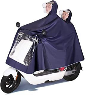 MSYL Raincoat battery car waterproof men's and women's electric self propelled motorcycles increase thickening single and ...