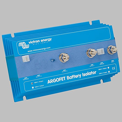 Batterie Ladestromverteiler ArgoFet 100A / 2- Batteriebänke