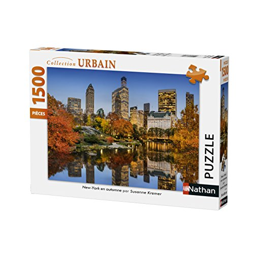 Nathan- 87788 Puzzle New York in autunno 1500 pezzi