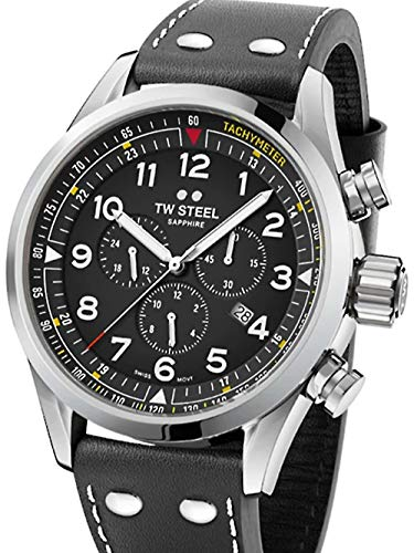 TW Steel Swiss Volante SVS202 chronograaf horloge 48mm