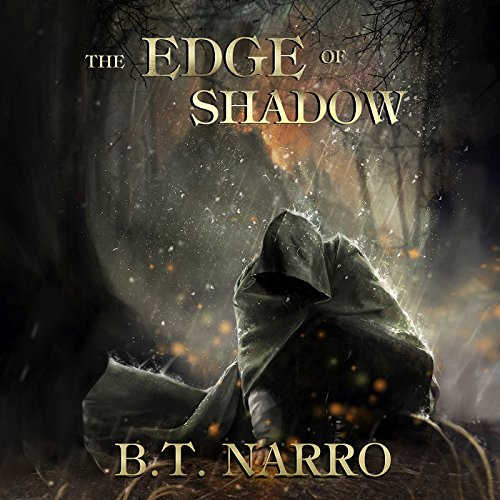 The Edge of Shadow audiobook cover art