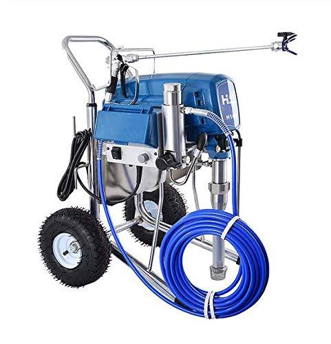 Elektrischer Hochdruck Airless Sprayer Spray Latex Lackierer Lack Sprühfarbe Maschine 24MPA 220V / 50Hz 3500W 16L / MIN