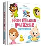 DISNEY BABY - Mes Premiers Pas - Puzzles 4 pièces - La journée de bébé