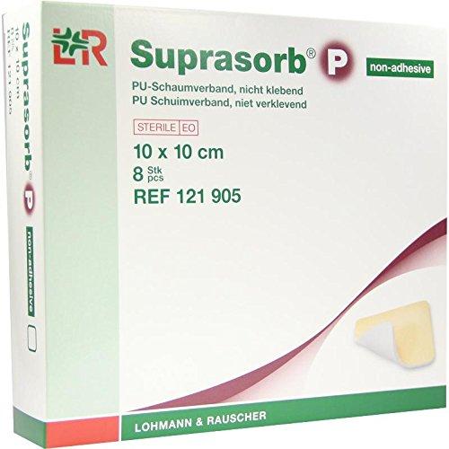 SUPRASORB P PU-Schaumv.nicht klebend 10x10 cm 8 St
