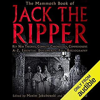 The Mammoth Book of the Jack the Ripper  audiobook cover art