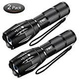 LED Tactical Flashlight, FMU High Lumen Portable Torch Light, Zoomable, 5 Modes, Water Resistant, Handheld Light - Best Camping, Outdoor, Emergency, Everyday Flashlights (1PACK)