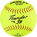 Dudley12' USASB Thunder Hycon Slowpitch Synthetic Softball - 12 Pack