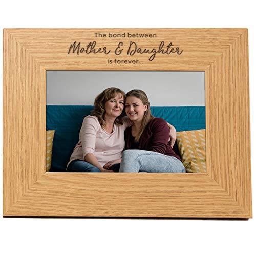 Dust and Things Marco de Fotos para mamá e Hija, Regalo para mamá de Hija – Regalos para el día de la Madre – El vínculo Entre la Madre y la Hija es para Siempre – Marco de Fotos para mamá