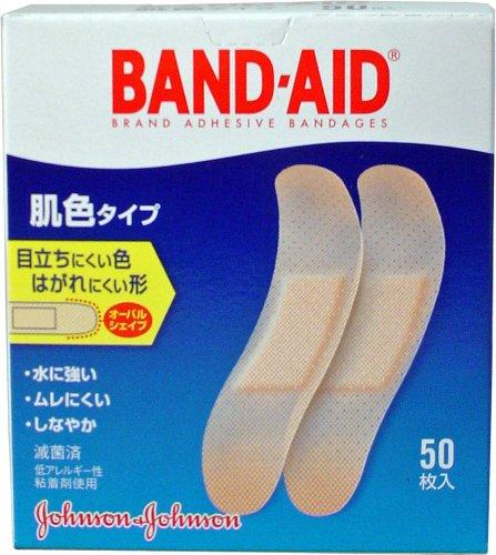 ジョンソン・エンド・ジョンソン BAND-AID 肌色タイプ...