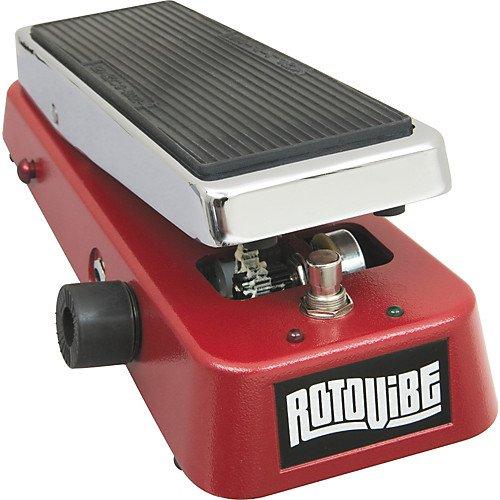 Dunlop JD4S Rotovibe Chorus/Vibrato Pedal w/Bonus Deluxe Patch Cable & RIS Picks