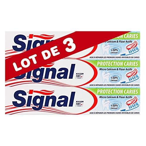 75ml pasta de dientes de protección de señal de caries - juego de 3