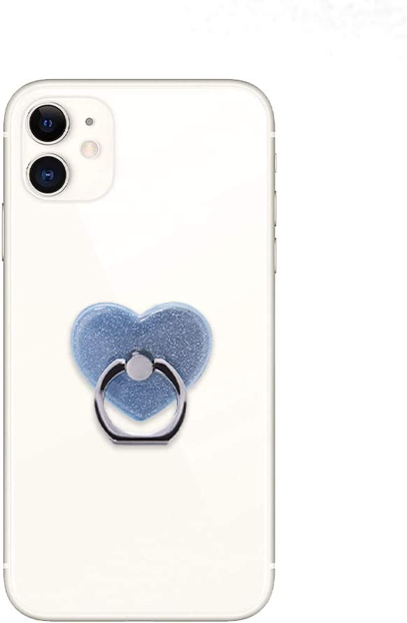 Glitter Safety and trust Classic Phone Grip Butterfly Shape Heart Shiny Holder Ring
