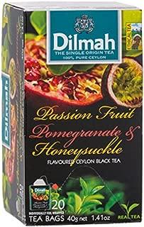 Diruma flavor passion fruit pomegranate & honeysuckle tea bag 2g X 20P