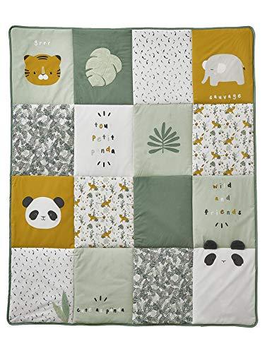 Vertbaudet Tapis de Sol Hanoi Multicolore 100X120