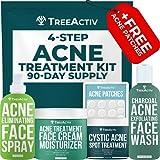 TreeActiv 4-Step Acne Treatment Kit   Sulfur...
