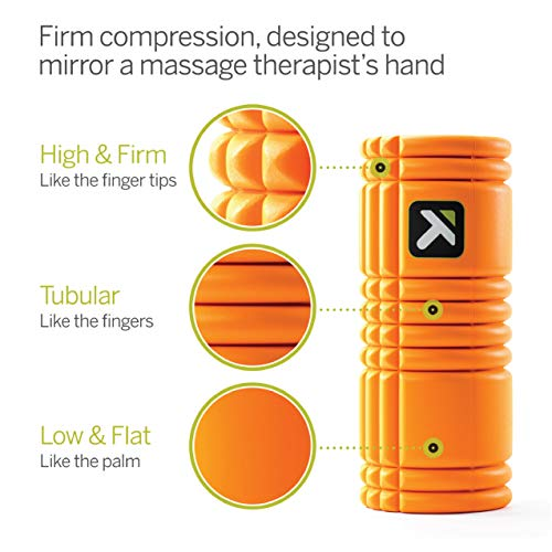 Trigger Point Ball Foamroller Grid, Orange, TF00226 - 3