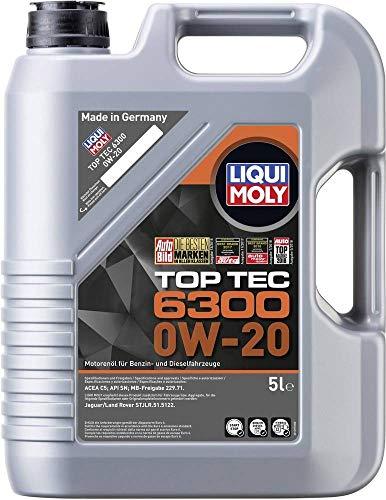 Motoröl Top Tec 6300 0W-20 Liqui Moly Viskosität-SAE: 0W-20 21211