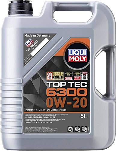 Motoröl Top Tec 6300 0W-20 von Liqui Moly 0W-20 (21211)
