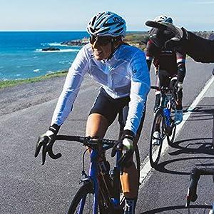 Grebarley Guantes de Ciclismo Bicicleta Montaña-Acolchados Bicicleta de Carretera de Hombres Mujeres Antideslizante Pantalla Táctil (XL)