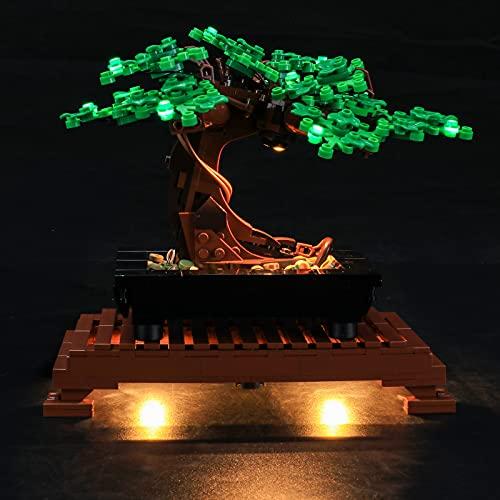 LIGHTAILING Conjunto de Luces (Creator Expert Bonsai Tree) Modelo de Construcción de Bloques - Kit de luz LED Compatible con Lego 10281 (NO Incluido en el Modelo)