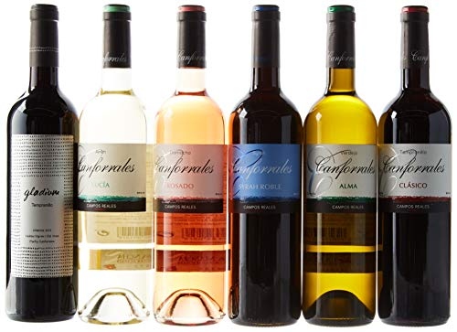 "Canforrales Pack de Vino ""Experiencia"", - Paquete de 6 x 750 ml - Total: 4500 ml"