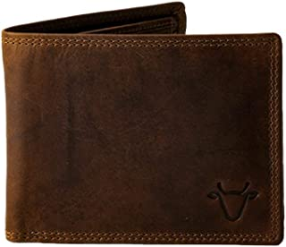 Tannin Leather - Essentials Wallet - Genuine Full Grain Leather - Brown - For Men and Women - RFID Blocking